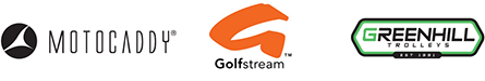 Motocaddy, Golf Stream and Greenhill Trolleys